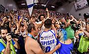 Marco Spissu, Marco Baz Bazzoni<br /> Banco di Sardegna Dinamo Sassari - Umana Reyer Venezia<br /> LBA Serie A Postemobile 2018-2019 Playoff Finale Gara 6<br /> Sassari, 20/06/2019<br /> Foto L.Canu / Ciamillo-Castoria