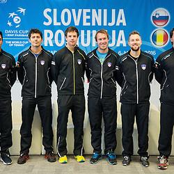 20160224: SLO, Tennis - Press conference before Davis Cup Romania vs Slovenia