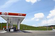 Spanje, Andalucie, 10-5-2010Tankstation van oliemaatschappij Galp.Brandstofprijzen voor auto's en vrachtwagens bereiken grote hoogten, vooral door de hoge olieprijs van ruwe olie op de wereldmarkt.Foto: Flip Franssen/Hollandse Hoogte