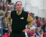 Greece Athena coach Jim Johnson during a game at Fairport High School on Saturday, January 3, 2015.