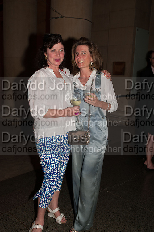 LAURA FABER; LAURENCE COSTE, Tate Summer party. Tate Britian, Millbank. London. 28 May 2012