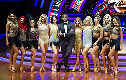 Ore Oduba, Stacey Dooley, Ashley Roberts, Lauren Steadman, Faye Tozer,  Janette Manrara, Dianne Buswell, Karen Clifton, Nadiya Bychkova, Luba Mushtuk and Amy Dowden attend the photocall for the 'Strictly Come Dancing' live tour at Arena Birmingham on 17 January 2019 in Birmingham, England. Picture date: Thursday 17 January, 2019. Photo credit: Katja Ogrin/ EMPICS Entertainment.