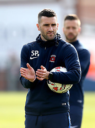 Hartlepool United Coach Stuart Parnaby - Mandatory by-line: Robbie Stephenson/JMP - 06/05/2017 - FOOTBALL - The Northern Gas and Power Stadium (Victoria Park) - Hartlepool, England - Hartlepool United v Doncaster Rovers - Sky Bet League Two
