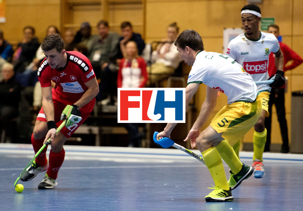 BERLIN - Indoor Hockey World Cup<br /> Kazakhstan - Poland<br /> foto: GREDER Martin.<br /> WORLDSPORTPICS COPYRIGHT FRANK UIJLENBROEK