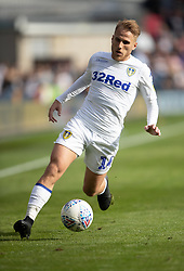 "Leeds United's Samu Saiz during the Sky Bet Championship match at The New Den, London. PRESS ASSOCIATION Photo. Picture date: Saturday September 15, 2018. See PA story SOCCER Millwall. Photo credit should read: Ian Walton/PA Wire. RESTRICTIONS: EDITORIAL USE ONLY No use with unauthorised audio, video, data, fixture lists, club/league logos or ""live"" services. Online in-match use limited to 120 images, no video emulation. No use in betting, games or single club/league/player publications."