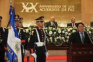 El vicepresidente parlamento de Panama Abraham Martinez ofrece un discurso Viernes AGT 24, 2012 en la asamblea legislativa San Salvador, El Salvador durante una reunion de presidentes y vipresidentes de poderes legislativo de centro america y la cuenca del caribe. Foto: Franklin Rivera/fmln/Imagenes Libres.