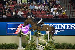 Lindelow Douglas, (SWE), Casello<br /> Longines FEI World Cup™ Jumping Final II<br /> Las Vegas 2015<br />  © Hippo Foto - Dirk Caremans<br /> 18/04/15