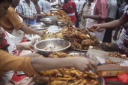 May 28, 2017 - Dhaka, Bangladesh - Vendors are selling ifter items on the first day of Ramadan at city's largest ifter market of old Dhaka. (Credit Image: © Md. Mehedi Hasan via ZUMA Wire)