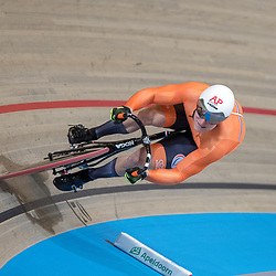 02-03-2018: Wielrennen: WK Baan: Apeldoorn<br />Jeffrey Hoogland