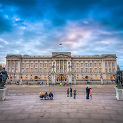 Possibly the most famous building in the world. It's taken me a long time to take a photograph of it that I was truly happy with it, but on this evening the sky was beautifully coloured and the tourists placed so that it really brought the image to life.