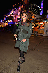VISCOUNTESS WEYMOUTH at the Hyde Park Winter Wonderland - VIP Preview Night, Hyde Park, London on 17th November 2016.