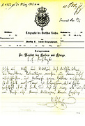 William II's telegram to von Bulow, the German Chancellor, on the former's visit to Tangier in 1905.