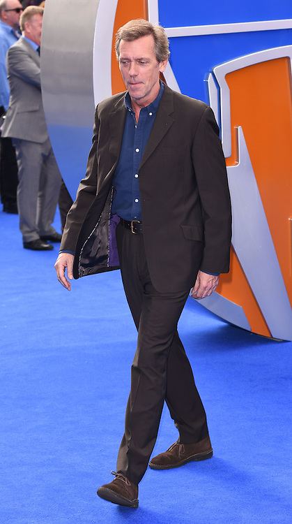 Hugh Laurie attends Disney's Tomorrowland -  A World Beyond UK film premiere at Odeon Cinema, Leicester Square, London on Sunday May 17, 2015