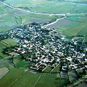 3 June 1976<br /> Village outside Kunduz. Nuclear pattern surrounded by fields.