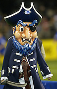 24 May 2003, Eden Park Auckland, Rugby Union, Xtra Super 12 Final, Auckland Blues vs Canterbury Crusaders.<br />Blue's Mascot at the final on Saturday night.<br />Pic: Marty Melville/Photosport