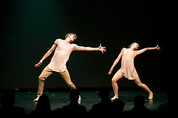 Dancers perform during Slovenian Tennis personality of the year 2017 annual awards presented by Slovene Tennis Association Tenis Slovenija, on November 29, 2017 in Siti Teater, Ljubljana, Slovenia. Photo by Vid Ponikvar / Sportida