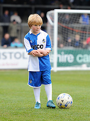 Mascot at The Memorial Stadium for the Vanarama Conference game between Bristol Rovers and Lincoln City on 7 February 2015 in Bristol, England - Photo mandatory by-line: Paul Knight/JMP - Mobile: 07966 386802 - 07/02/2015 - SPORT - Football - Bristol - The Memorial Stadium - Bristol Rovers v Lincoln City - Vanarama Conference