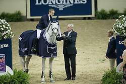 Allen Bertram, (IRL), Molly Malone V<br /> Longines FEI World Cup™ Jumping Final I<br /> Las Vegas 2015<br />  © Hippo Foto - Dirk Caremans<br /> 17/04/15
