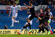 Leeds United defender Leif Davis (40)  during the EFL Cup match between Leeds United and Stoke City at Elland Road, Leeds, England on 27 August 2019.
