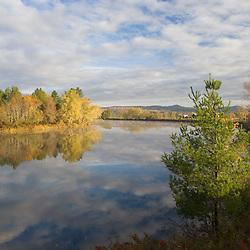 The Connecticut River in Dalton, New Hampshire.