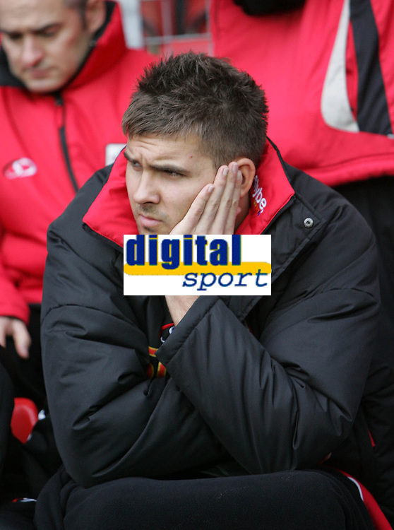 Photo: Lee Earle/Sportsbeat Images.<br /> Southampton v Hull City. Coca Cola Championship. 08/12/2007. Southampton's Bartosz Bialkowski started on the bench.