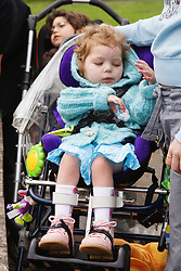 Child with cerebral palsy,