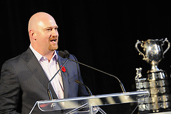 Photos from the opening banquet at the 2011 MasterCard Memorial Cup in Mississauga, ON on Thursday May 19. Photo by Aaron Bell/CHL Images