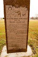 Pawhuska, Oklahoma, Osage Nation Museum, oldest tribally owned museum in USA, million dollar elm monument
