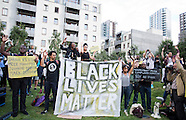 London: Black Lives Matter Protest, 5 August 2016