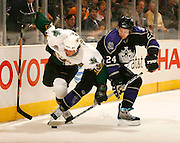LOS ANGELES, CA- OCTOBER 12:  The Los Angeles Kings against the Dallas Stars on October 12, 2006 at the Staples Center in Los Angeles, California.  (Photo by Jeff Bottari/Getty Images)