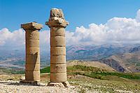 Turquie. Anatolie de l'Est. Region du Nemrut  Dagi. Site de Karakus. // Turkey. East Anatolia Province. Nemrut Dagi region. Site of Karakus.
