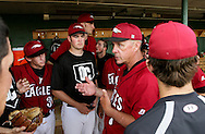 April 26, 2012: The Mid-America Christian University Evangels play against the Oklahoma Christian University Eagles at Dobson Field on the campus of Oklahoma Christian University.