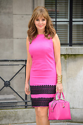 Image ©Licensed to i-Images Picture Agency. 05/06/2014. London, United Kingdom. Carol Vorderman Presents the new AW14 Isme Collection. . Picture by Chris Joseph / i-Images