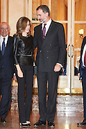 111016 Spanish Royals attended the 'Francisco Cerecedo' journalism awards