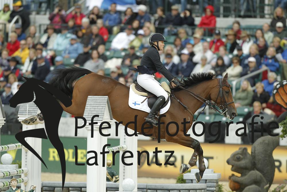 FAGERSTROM Nina, Wivina<br /> Kentucky - Alltech FEI WEG 2010<br /> /Stefan Lafrentz