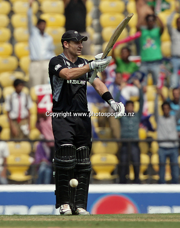ICC Cricket World Cup. New Zealand Black Caps v Australia at the Vidarbha Cricket Association Ground. Friday February 25, 2011. Nagpur, India. Photo: photosport.co.nz