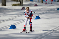 competing in the Nordic Skiing XC Long Distance at the 2014 Sochi Winter Paralympic Games, Russia