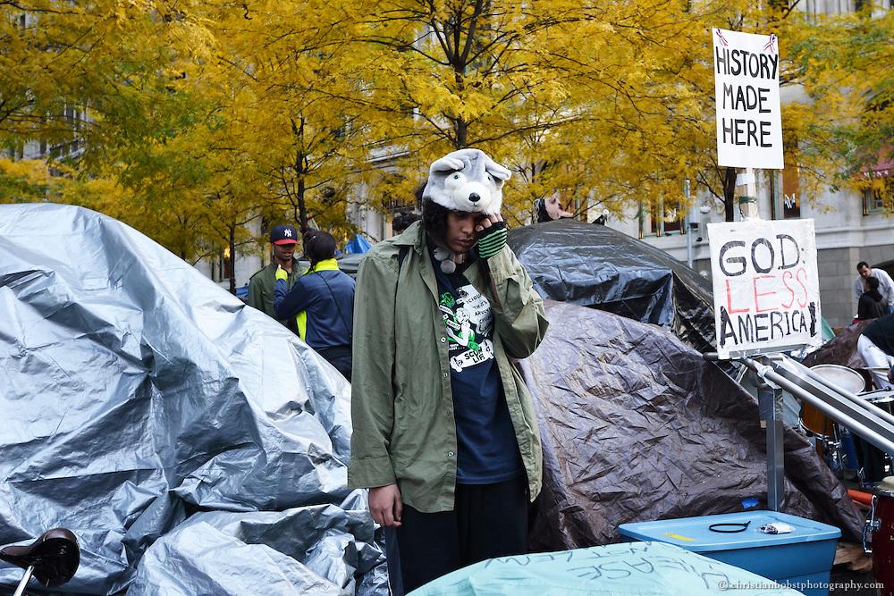 November 14 2011, Zuccotti Park, NY