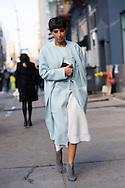 Deena Abdulaziz at Calvin Klein FW2015 2