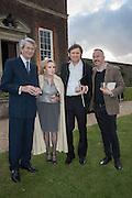MARTIN LUTYENS; BEATRIZ LUTYENS; MARCOS LUTYENS; DOMINIC LUTYENSPerdurity: A Moving Banquet of Time. Royal Salute curates a timeless evening at Hampton Court Palace with Marcos Lutyens, 2 June 2015.