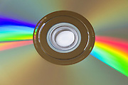 DVD disk light refraction