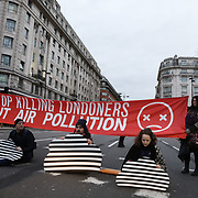 Stop Killing Londoners action in Marble Arch 29.01.18
