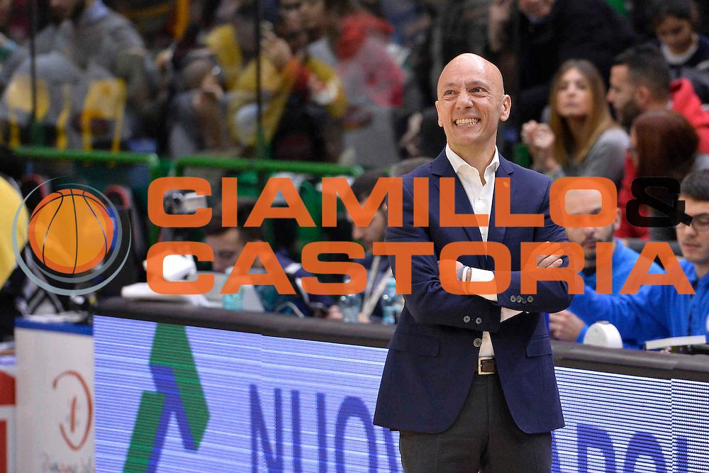 SASSARI 08 GENNAIO 2017<br /> LegaBasket Serie A 2016/2017<br /> Dinamo Banco di Sardegna Sassari - Pasta Reggia Juve Caserta<br /> NELLA FOTO Stefano Sardara<br /> FOTO CIAMILLO