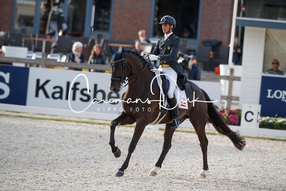 Matute Guimon Juan, ESP, Dopernico Ymas<br /> Longines FEI/WBFSH World Breeding Dressage Championships for Young Horses - Ermelo 2017<br /> &copy; Hippo Foto - Dirk Caremans<br /> 03/08/2017