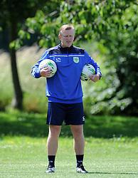 Yeovil Town's Coach Terry Skiverton. - Photo mandatory by-line: Harry Trump/JMP - Mobile: 07966 386802 - 03/07/15 - SPORT - FOOTBALL - Pre Season - Yeovil Town Training - Sherborne School, Dorset, England.