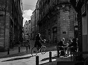 Bordeaux, France street scene.