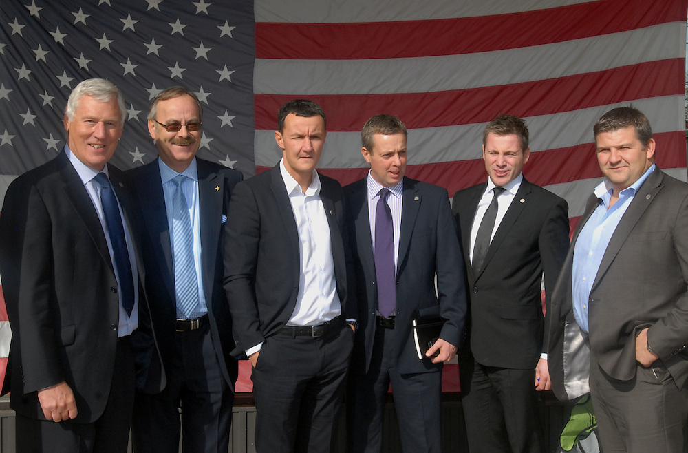 HSBC - Thought Exchange New York - exchange finalists visit Verrex in Mountainside, NJ. .[left to right].Paul Grant (MD, Mackay's Ltd). Mike Lulham ( International Commercial Director, HSBC Commercial Banking UK), .Rob Morrison (Founder, Breo LTD),.Steve Estill (International Commercial Manager, Manchester HSBC Commercial Banking UK),.Brian Hay (CEO, Cardinal Maritime Group),.Julian Bambridge (MD, MPM Products LTD), ......
