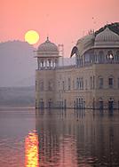 View of Jal-Mahal at Sunrise