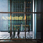 Workers at the DIFC - Dubai, U.A.E.