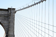 Brooklyn Bridge, Manhattan, New York City, New York, USA